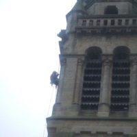 Réparation des abats-son - Eglise de Surzur (56)