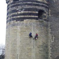 Maçonnerie - Château d'Angers (49)