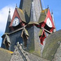 Peinture de l'église de Sérent : Avant/Après.