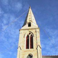 Clocher Eglise de Locmaria-Grandchamp - Après