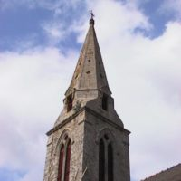 Clocher Eglise de Locmaria-Grandchamp - Avant