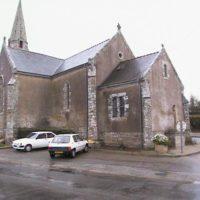 nef Eglise de Locmaria-Grandchamp - Avant