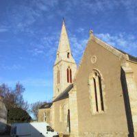 nef Eglise de Locmaria-Grandchamp - Après