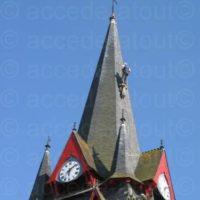 Peinture de l'église de Sérent : Après