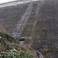 Travaux sur barrage en Côte d'Armor