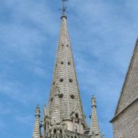 Flèche église d'Elven