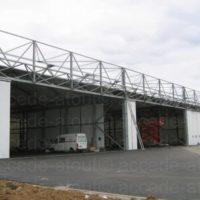 travaux en hauteur securisation ligne de vie base militaire lanveoc hangar helico