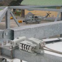 Fixation lignes de vie sur toiture de hangar