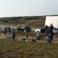 Installation tournage France 3 à Quiberon