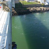 Inspection de pont en Morbihan.