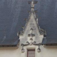 Lucarne du château des Ducs à Nantes.