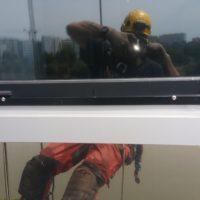 travaux d'accès difficile prise de photos de désordres constatés en façade et rapport