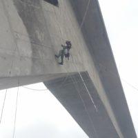 travaux sur cordes pont ouvrage d'art