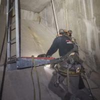 équipements de sécurité accès intérieur de pont