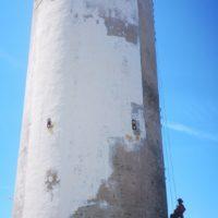 travaux à la corde archipel des Glénans