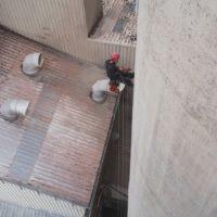 agroalimentaire travaux en hauteur silos remplacement tuyauteries