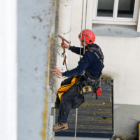 travaux sur cordes inspection bétons sécurité